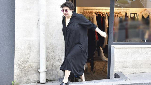 Esra Dermancıoğlu düşmekten son anda kurtuldu - Magazin haberleri