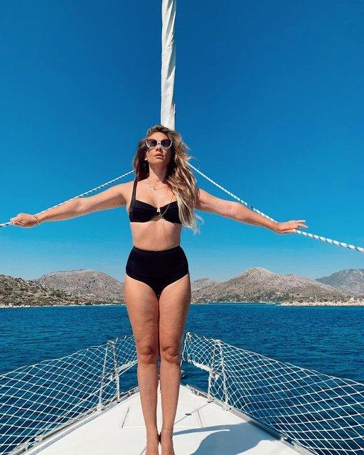 Müge Boz: Doğum sonrası aldığım kilolarla barışmaya odaklandım - Magazin haberleri