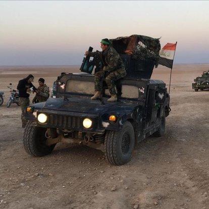 Irak'ta DEAŞ'lı 5 terörist etkisiz hale getirildi