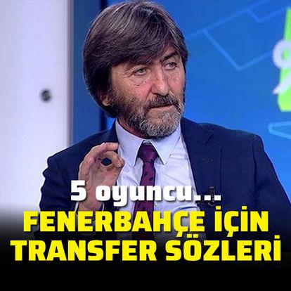 Fenerbahçe'ye transfer reçetesi!