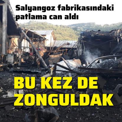 Bu kez de Zonguldak! Salyangoz fabrikasındaki patlama can aldı