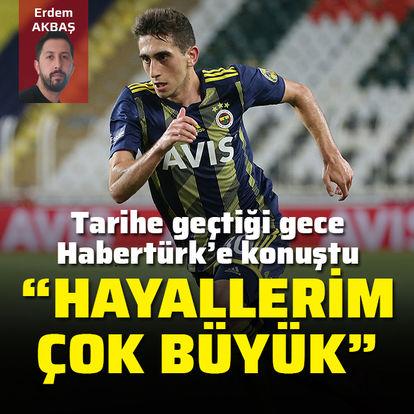 Ömer Faruk tarihe geçti, ilk sözlerini Habertürk'e söyledi: Hayallerim çok büyük
