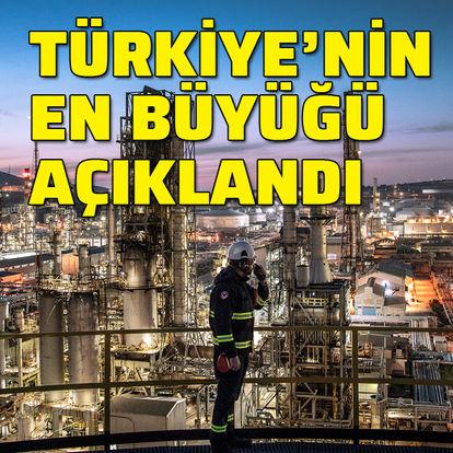 Türkiye'nin en büyüğü açıklandı