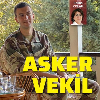 AK Parti Gaziantep Milletvekili Müslüm Yüksel askerde