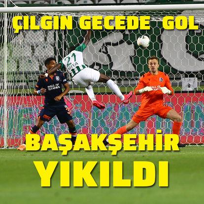 Konya'da 7 gol! Başakşehir yıkıldı...
