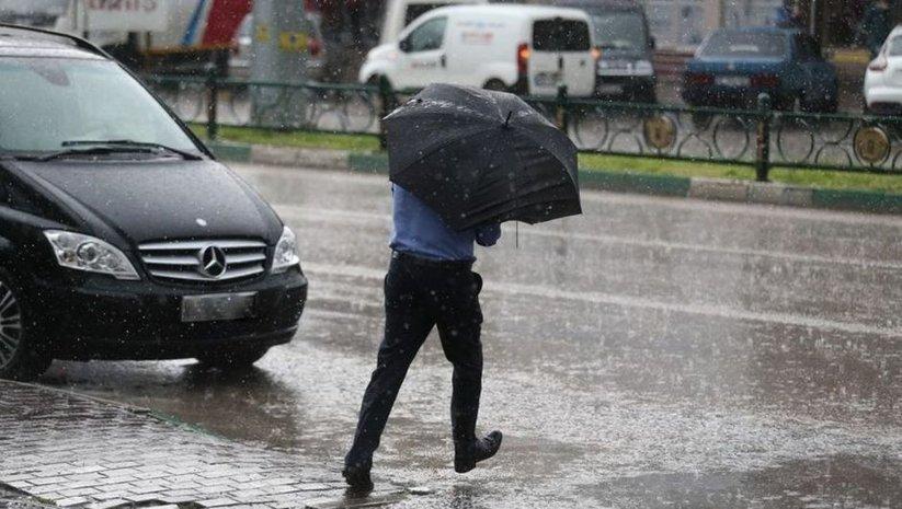 Yerel yağışlara dikkat!