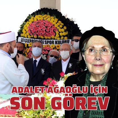 Adalet Ağaoğlu'na son görev