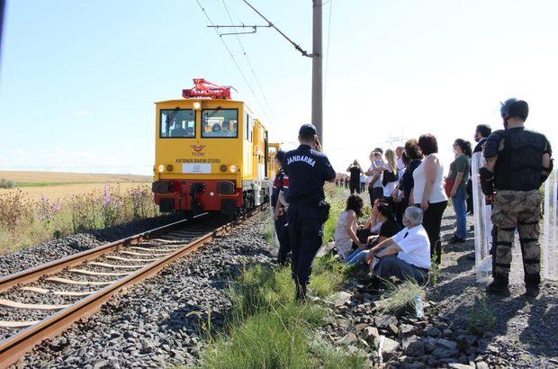 Çorlu'daki tren kazasında keşif incelemesi