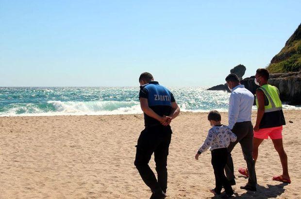 Denize girmek yasaklanınca herkes oraya koştu!