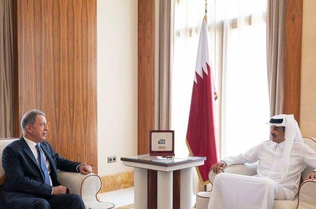 Bakan Akar'dan Katar'a sürpriz ziyaret!