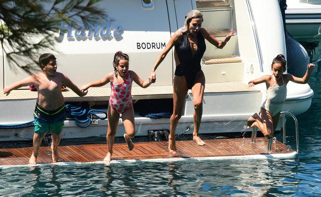 Hande Demir çocuklarıyla moral tatilinde - Magazin haberleri