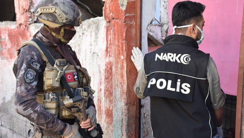 Gaziantep'te zehir tacirlerine operasyon: 26 gözaltı