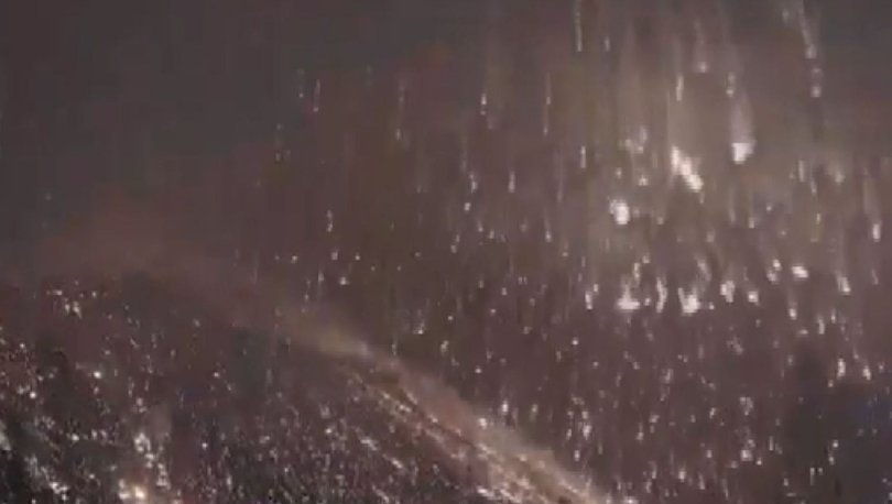 İtalya'nın Stromboli Yanardağı patladı!