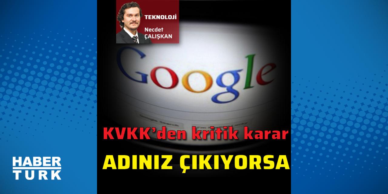 Adınız Google'da çıkıyorsa…
