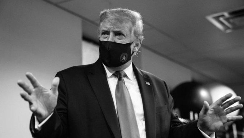 ABD Başkanı Donald Trump, ilk kez maskeli fotoğrafını paylaştı