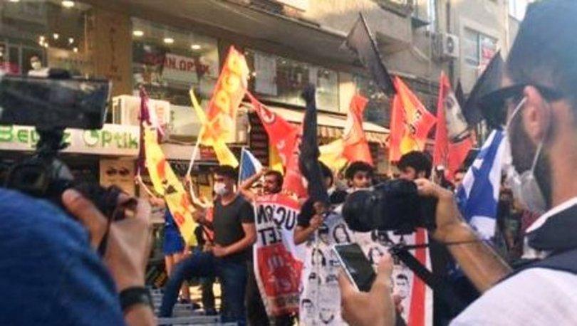 Kadıköy'de izinsiz yürüyüş: 55 gözaltı