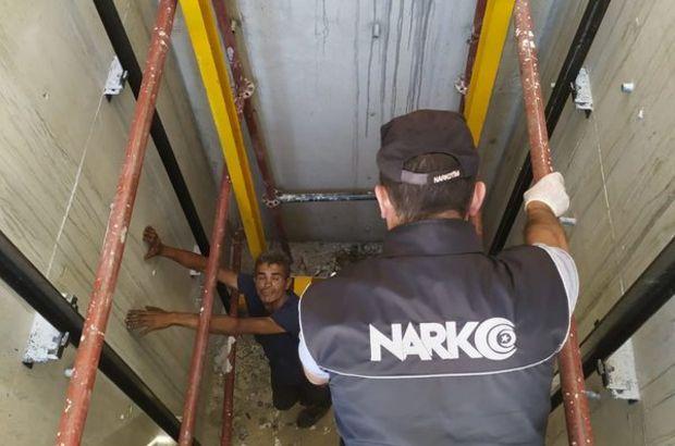 300 polis ile Narkotik uygulaması