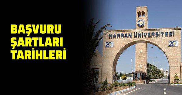 Harran Üniversitesi 75 personel alacak