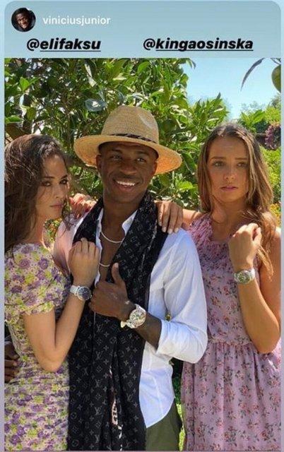 Elif Aksu ile Vinicius Junior aşk mı yaşıyor? - Magazin haberleri