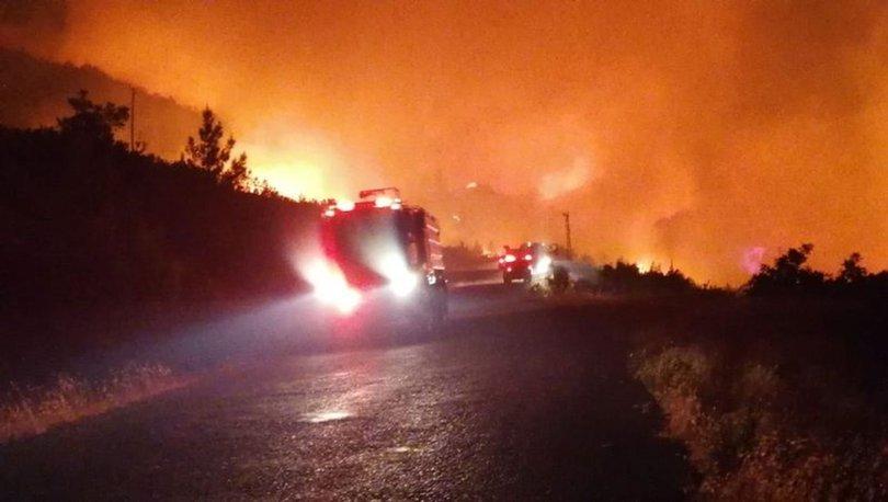 Son dakika haberi... Antalya Manavgat'ta orman yangını