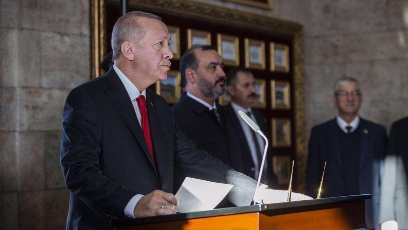 Son dakika haberi Cumhurbaşkanı Erdoğan'dan önemli açıklama!