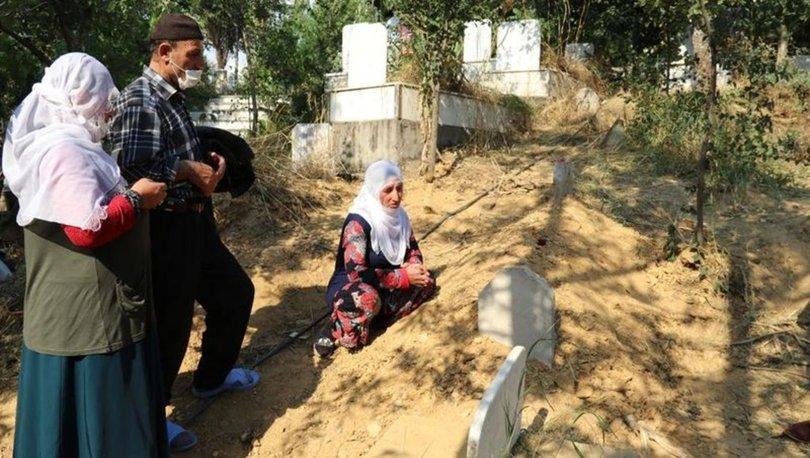 ahşice öldürülen Pınar Gültekin'in mezarına bayram şekeri bırakıldı