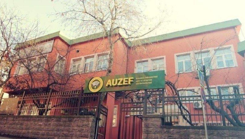 AUZEF sınav sonuçları sorgulama 2020! İstanbul Üniversitesi AUZEF sınav sonuçları açıklandı