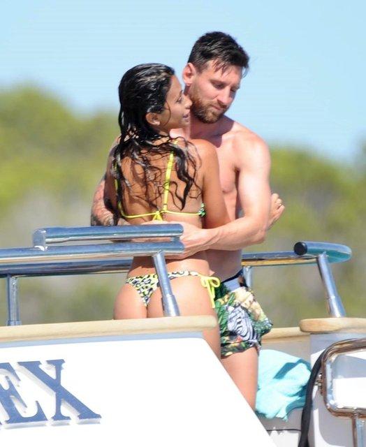Lionel Messi ailesiyle tatilde - Magazin haberleri