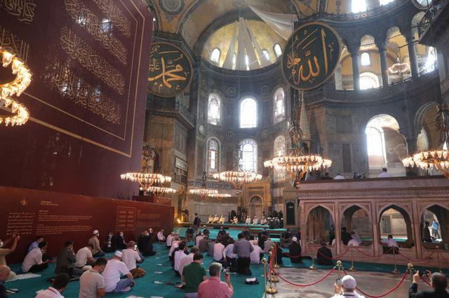 Ayasofya Camii fotoğrafları 2020! En güzel Ayasofya Camii resimleri 24 Temmuz 2020