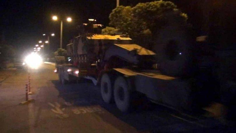 SON DAKİKA! Suriye sınırına askeri sevkiyat - HABERLER