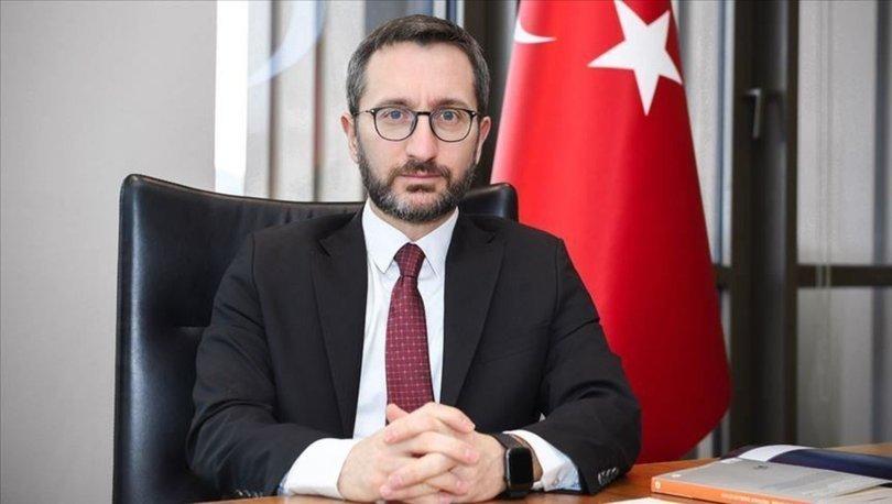 İletişim Başkanı Altun'dan Basın Bayramı mesajı