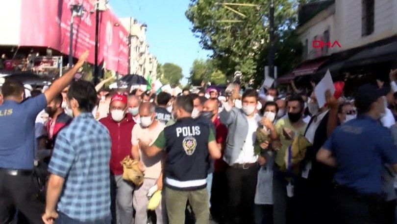 Ayasofya Camii yolunda korkutan görüntü! Polis bariyerini aşan kalabalık koşmaya başladı- Haberler