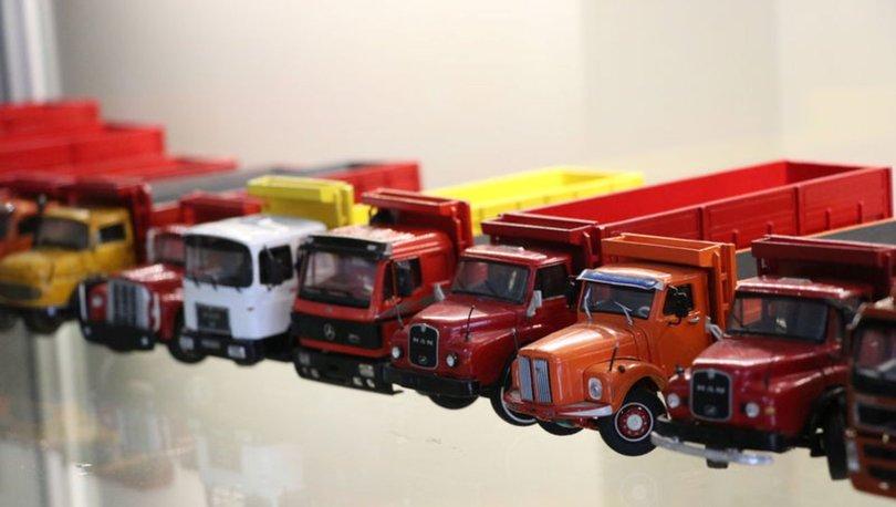 Model araç koleksiyonuna 7 yılda 150 bin lira harcadı