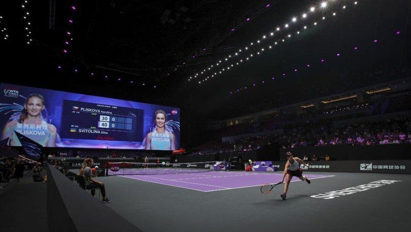 Çin'de bu yıl düzenlenecek tenis turnuvaları salgın nedeniyle iptal edildi