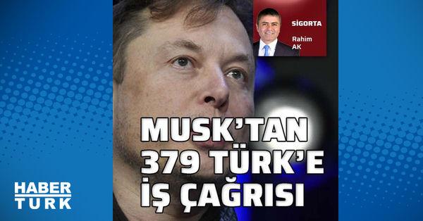 Elon Musk'tan 379 Türk'e çağrı