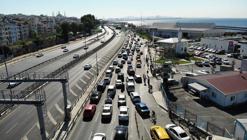 Son dakika haberler... Ayasofya'nın açılışı için kapatılan yollar trafiğe açıldı