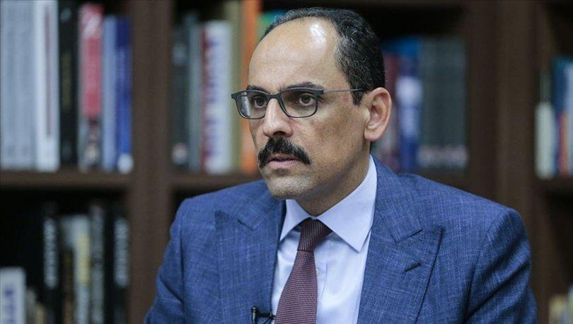 Cumhurbaşkanlığı Sözcüsü Kalın'dan, 'Basın Bayramı' tebriği