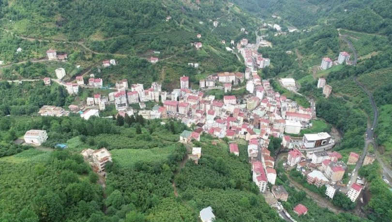 Trabzonda bir mahalle karantinaya alındı