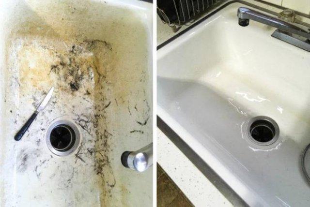 Sosyal medyada temizlik trendi! Öncesi-sonrası hallerini paylaştılar