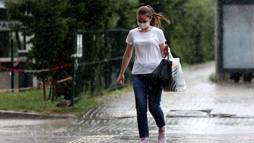 Son dakika haberi... Meteoroloji'den iki bölge için yağış uyarısı
