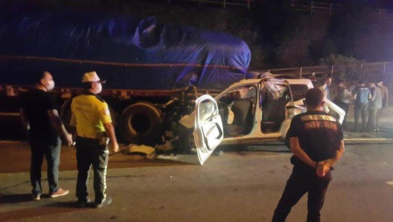 Son dakika haberi... Trabzon'da feci kaza: Kurtulan olmadı!
