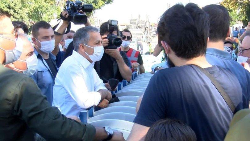 İstanbul Valisi Ali Yerlikaya Ayasofya Camii'ne geldi