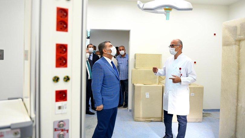 Koca: Göztepe Eğitim ve Araştırma Hastanesinin birinci etabı yakında hizmete girecek