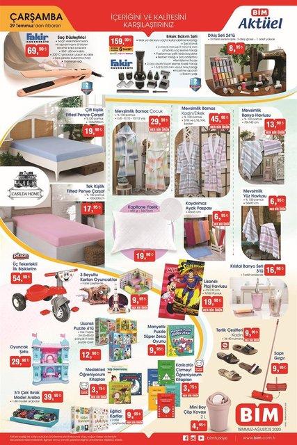 BİM 28-29 Temmuz 2020 aktüel ürünleri satışa çıkıyor! BİM'de hangi ürünler indirimde? İşte tam liste