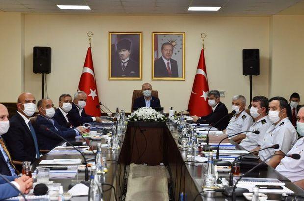 Mersin'de güvenlik toplantısına katıldı