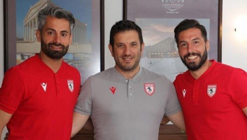 Samsunspor'da Erkam Reşmen ve kaleci Ahmet Altın ile 1 yıllık sözleşme yenilendi