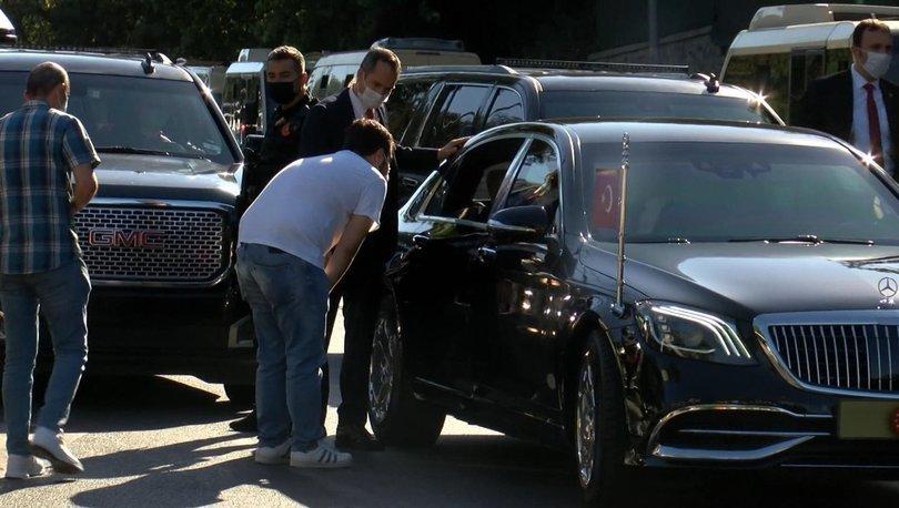 Cumhurbaşkanı Erdoğan, taksi şoförleriyle sohbet etti