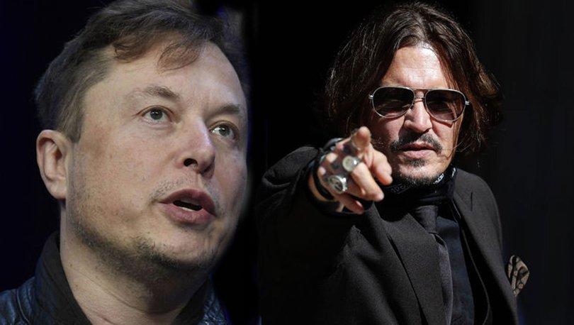 Elon Musk, Johnny Depp