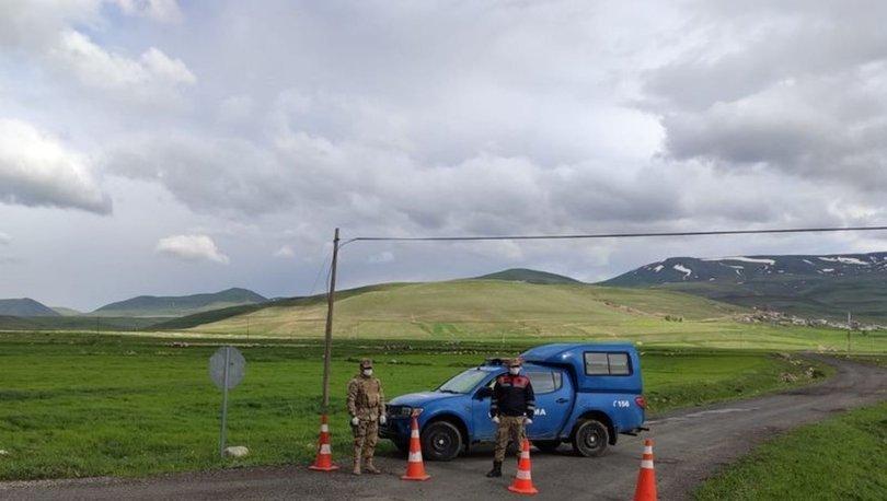 Erzurum'da 1 mahalle Kovid-19 nedeniyle karantinaya alındı- HABERLER