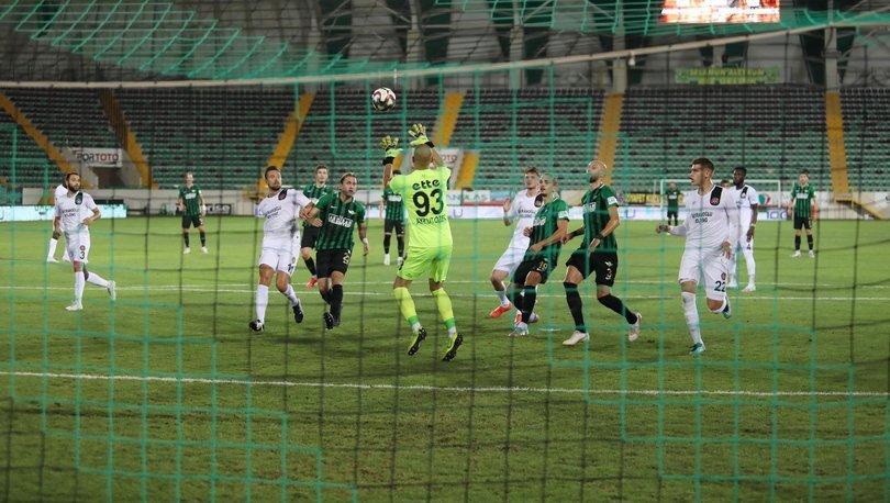 Akhisarspor - Fatih Karagümrük maçı